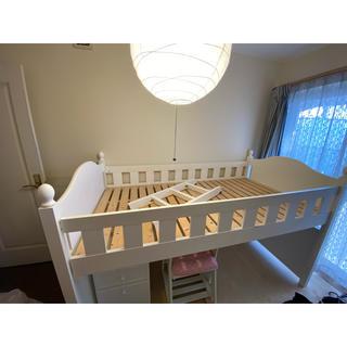ニッセン(ニッセン)のシステムベッド mamegoma様(ロフトベッド/システムベッド)