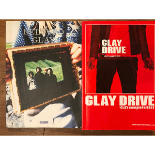 GLAY スコアブック 「DRIVE」「BELOVED」セット(ポピュラー)