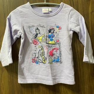 コストコ(コストコ)のサイズ110 ディズニープリンセス トレーナー(Tシャツ/カットソー)