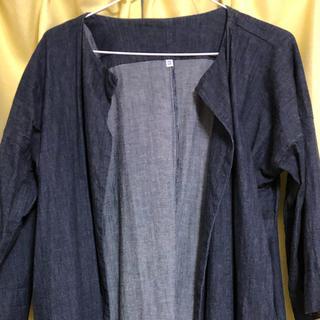 ムジルシリョウヒン(MUJI (無印良品))の無印良品デニムコート(ロングコート)