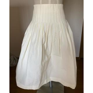アミウ(AMIW)のAMIW ホワイトスカート(ひざ丈スカート)