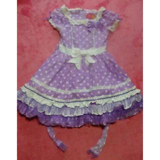 アンジェリックプリティー(Angelic Pretty)のAngelic pretty ワンピース 紫色(ミニワンピース)