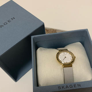 SKAGEN - 美品 SKAGEN レディース腕時計/ レザー使用