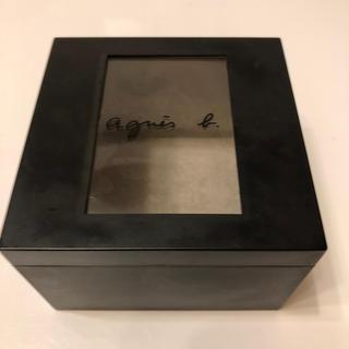 アニエスベー(agnes b.)のアニエス・ベー ブランド箱 時計箱 プラスチック箱(ショップ袋)