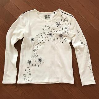 和柄♡ロンT(Tシャツ/カットソー(七分/長袖))