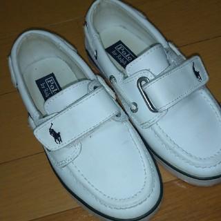 ポロラルフローレン(POLO RALPH LAUREN)のPolo Ralph Lauren♡子供靴(スリッポン)