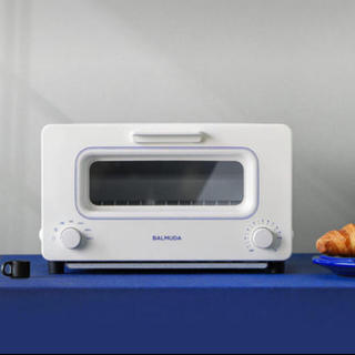 バルミューダ(BALMUDA)のバルミューダ   トースター ホワイト×ブルー(調理機器)