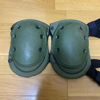 ニーパッド グリーン mizking32様専用(戦闘服)