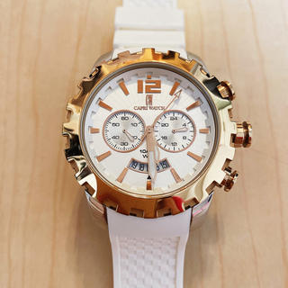 カプリウォッチ(CAPRI WATCH)のカプリウォッチ ホワイトクロノ5215(腕時計(アナログ))