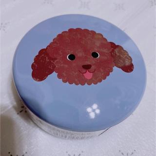 カルディ(KALDI)のカルディ KALDI プードル サークル 缶 わんこの日 数量限定 即完売品(犬)