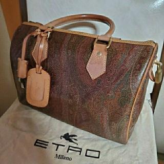 エトロ(ETRO)の【ETRO】エトロ ペイズリー柄 ボストンバッグ(ボストンバッグ)