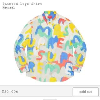 シュプリーム(Supreme)のSupreme Painted Logo shirt(シャツ)