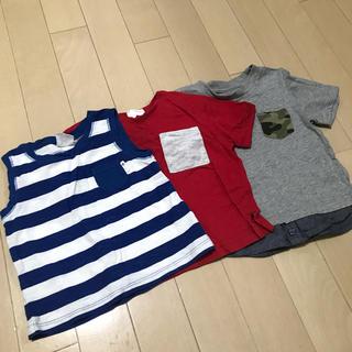 ザラ(ZARA)のトップス3枚セット(Tシャツ)