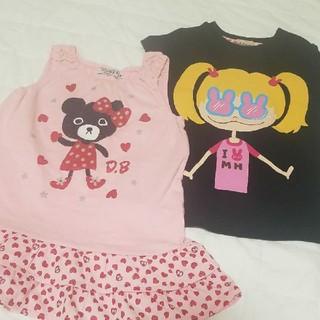 ミキハウス(mikihouse)のミキハウス ダブルビー 90 Tシャツ MIKI HOUSE(Tシャツ/カットソー)