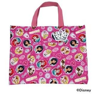 ディズニー(Disney)のキルトレッスンバッグ キルトシューズバッグ セット(レッスンバッグ)