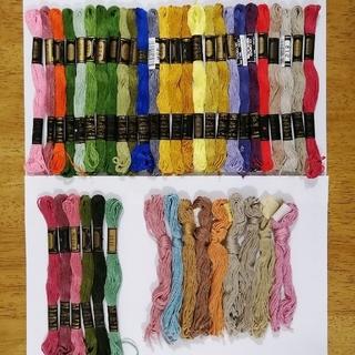 オリンパス(OLYMPUS)の刺繍糸 OLYMPUS★41本★set  オリムパス 25番 刺しゅう糸(生地/糸)