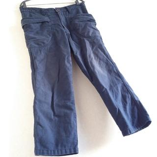 ◆17 期間限定 レア エターナル 倉 ビッグ W ポケット デニム パンツ 紺