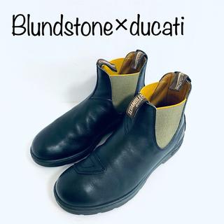 ブランドストーン(Blundstone)のuk8 ブランドストーン×ducatiコラボ サイドゴアブーツ スクランブラー(ブーツ)