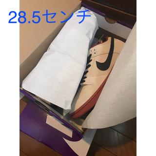 ナイキ(NIKE)のnike sb dunk low muslin 28.5 その②(スニーカー)