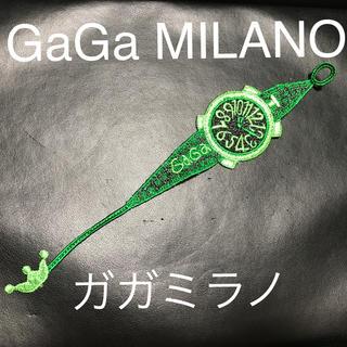 ガガミラノ(GaGa MILANO)のガガミラノ GaGa MILANO レースブレスレット 新品未使用品 本物 (ブレスレット)