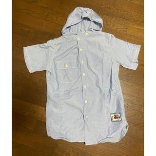 ナナミカ(nanamica)のH/H フードつきシャツ M(シャツ)