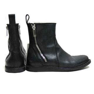 リックオウエンス(Rick Owens)のRick Owens side zips ankle boot ブーツ(ブーツ)