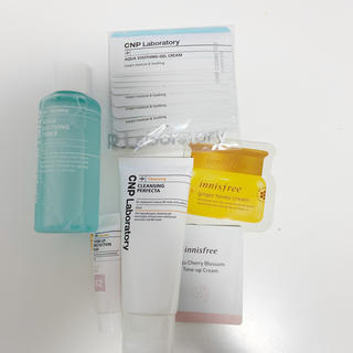 チャアンドパク(CNP)のCNP、innisfree試供品(サンプル/トライアルキット)