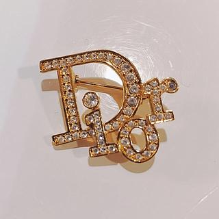 クリスチャンディオール(Christian Dior)のDior ロゴモチーフブローチ(ブローチ/コサージュ)