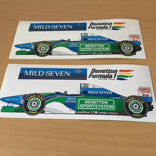 ベネトン F1 エフワン ステッカー