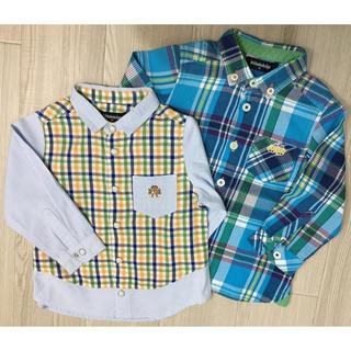 クレードスコープ(kladskap)のりあ様専用! クレードスコープ長袖シャツ2枚セット 90サイズ(ブラウス)