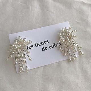 ビューティアンドユースユナイテッドアローズ(BEAUTY&YOUTH UNITED ARROWS)のicicle perl pierce/earring(ピアス)
