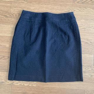 ストロベリーフィールズ(STRAWBERRY-FIELDS)のSTRAWBERRY-FIELDS ネイビースカート(ミニスカート)