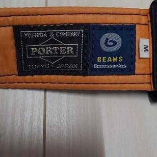 ポーター(PORTER)のPORTERとBEAMSのコラボタンカーベルト(ベルト)