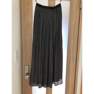 ユナイテッドアローズ(UNITED ARROWS)のUNITED ARROWS サテンプリーツスカート(ロングスカート)
