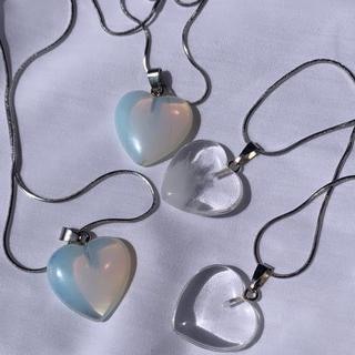 Heart quartz necklace(ネックレス)