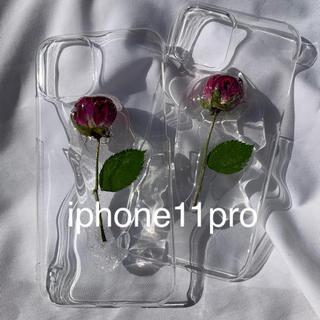 Rose iphone case (iphone11pro)(スマホケース)