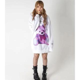 ミルクボーイ(MILKBOY)のTRAVAS TOKYO  Furry bear Hoodie/くま パーカー(パーカー)