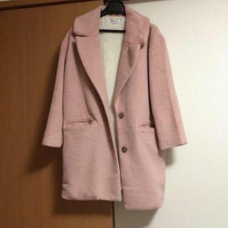 WEGO - チェスターコート ピンク WEGOの通販 by mami's shop ウィゴーならラクマ