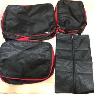 トラベルポーチ衣類圧縮バッグ 旅行 軽量 圧縮バッグ 出張収納バッグ 衣類仕分け(旅行用品)