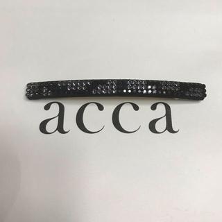 アッカ(acca)のひめ様専用 acca アッカ  ブリジット バレッタとダブルコラーナ小(バレッタ/ヘアクリップ)