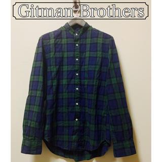 Gitman Brothers (米) - スタンドカラーシャツ