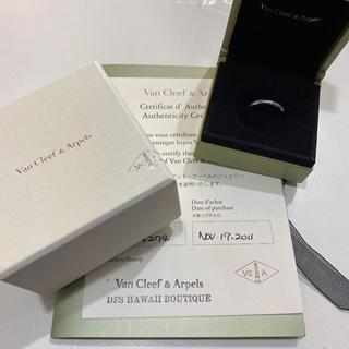 ヴァンクリーフアンドアーペル(Van Cleef & Arpels)のほぼ未使用! ☆ヴァンクリーフ&アーペル☆ 指輪 リング(リング(指輪))