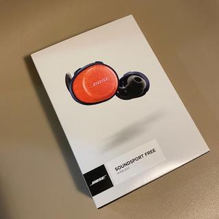 ボーズ(BOSE)の【BOSE】Bluetoothイヤホン オレンジネイビー(ヘッドフォン/イヤフォン)