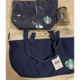 スターバックスコーヒー(Starbucks Coffee)のスタバ 2018福袋 トートバッグ・保冷トートバッグ・コーヒーシュガー(日用品/生活雑貨)