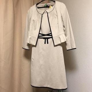 トッカ(TOCCA)の【最終お値下げ】TOCCA セレモニースーツ ワンピース ジャケット(スーツ)