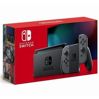 ニンテンドースイッチ(Nintendo Switch)のNintendo Switch 本体 グレー 新モデル(家庭用ゲーム機本体)