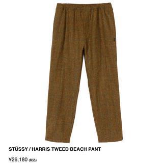 STUSSY - STÜSSY / HARRIS TWEED BEACH PANT