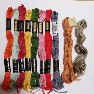 オリンパス(OLYMPUS)の刺繍糸 OLYMPUS 10本★09★オリムパス 刺しゅう糸 (生地/糸)