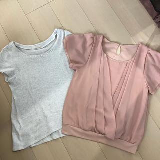 エニィスィス(anySiS)のトップス 2枚セット(Tシャツ(半袖/袖なし))