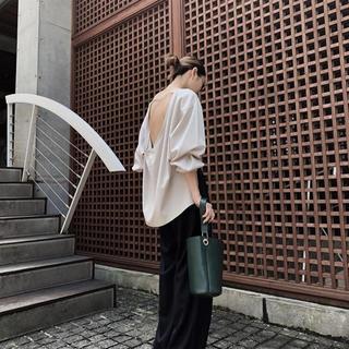 エンフォルド(ENFOLD)の期間限定値下げ中!リムアーク back drape cut tops(カットソー(長袖/七分))